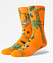 Stance x MIGOS Culture II calcetines anaranjados