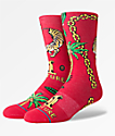 Stance x Migos Culture II Red Crew Socks