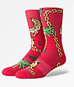 Stance x Migos Culture II calcetines rojos