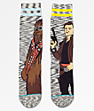 Stance x Star Wars Kessel Run Grey Crew Socks