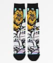 Stance x Star Wars Warped Chewbacca Black Crew Socks