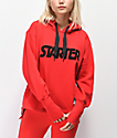 Starter Red Oversized Hoodie