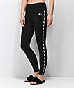 Starter leggings negros con cinta