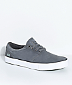 State Elgin Pewter & Mint Suede Skate Shoes