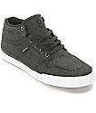 State Mercer Black Denim Skate Shoes