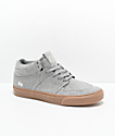 State Mercer Grey Chambray & Gum Skateboard Shoes