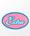 Stickie Bandits Extra Pink & Blue Sparkle Sticker