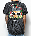 Succ Clout Black Tie Dye T-Shirt