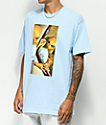Succ Lil Mayo Mirror camiseta azul claro