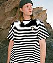 Succ Lil Mayo camiseta de rayas negras y blancas