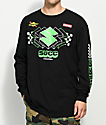 Succ Moto Black Long Sleeve T-Shirt