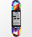 "Superior Universe Wrap Logo 7.75"" tabla de skate"