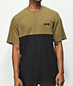 Supra Block Green & Black Knit T-Shirt