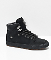 Supra Boys Vaider CW Black & Plaid Shoes