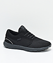 Supra Hammer Run 3M All Black Shoes