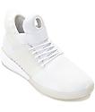 Supra Skytop V Mono White Skate Shoes