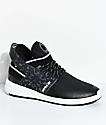 Supra Skytop V zapatos de skate en gris, blanco y negro