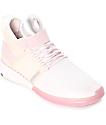 Supra Skytop V zapatos de skate en rosa clara