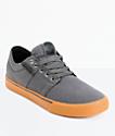 Supra Stacks II Vulc zapatos de skate en gris y goma