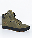 Supra Vaider CW Olive, Black & Plaid Shoes