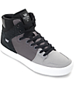 Supra Vaider Gradient Grey Skate Shoes