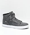 Supra Vaider zapatos de skate de lana gris