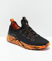 Supra x Rothco Factor Black & Savage Orange Camo Shoes