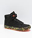 Supra x Rothco Vaider CW Woodland zapatos negros y camuflaje
