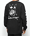 Swallows & Daggers Bulldog Bunny Black Long Sleeve T-Shirt