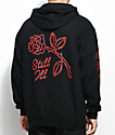 Swallows & Daggers Still Ill Black & Red Hoodie