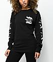 Swallows & Daggers Swallows Black Long Sleeve T-Shirt