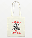 Swallows & Daggers Thanks For Nothing Tote Bag