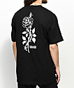 Swallows & Daggers Thorn Rose Black T-Shirt
