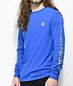 Sweatshirt By Earl Sweatshirt Premium Royal Blue Long Sleeve T-Shirt