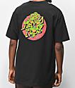 TMNT x Santa Cruz Turtle Power Black T-Shirt