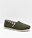 TOMS Alpargata zapatos de color oliva