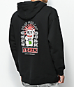 Tealer Pray For Cat Black Hoodie
