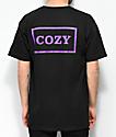 Team Cozy Cozier Box Black & Purple T-Shirt
