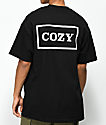 Team Cozy Cozier Box Black & White T-Shirt