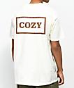Team Cozy Cozier Box Cream T-Shirt