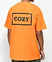 Team Cozy Cozier Box camiseta naranja