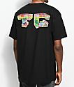 Team Cozy Multiblock Black T-Shirt