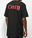 Team Cozy Newsman Black T-Shirt