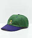 Teddy Fresh Green & Purple Strapback Hat