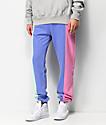 Teddy Fresh Pastel Color Blocked Jogger Sweatpants
