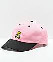 Teddy Fresh Pink & Black Strapback Hat