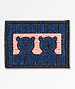 Teddy Fresh Two Teds Navy, Black & Pink Patch