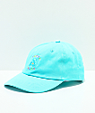 Teddy Fresh gorra bordada azul pastel