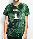 Teenage Hard Wired Green Tie Dye T-Shirt