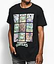 Teenage Mutant Ninja Turtles Characters Black T-Shirt